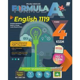 TINGKATAN 4 MODUL AKTIVITI FORMULA A+  KSSM ENGLISH