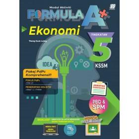 TINGKATAN 5 MODUL AKTIVITI FORMULA A+  KSSM EKONOMI