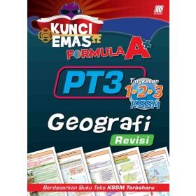KUNCI EMAS FORMULA A+ PT3 GEOGRAFI