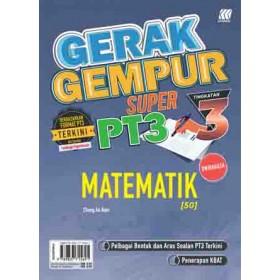 TINGKATAN 3 GERAK GEMPUR SUPER PT3 MATEMATIK(BILINGUAL)