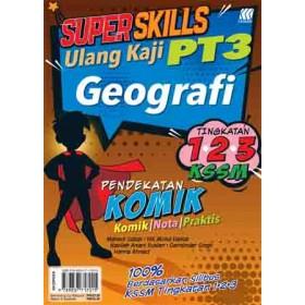 SUPER SKILLS ULANG KAJI PT3 GEOGRAFI(PENDEKATAN KOMIK)