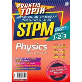 Praktis Topik KSPTL STPM Semester 1,2,3 Physics