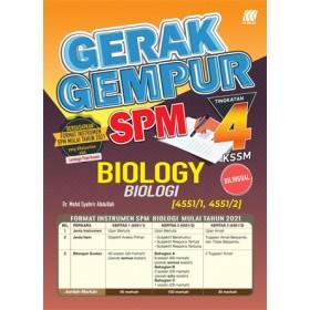 TINGKATAN 4 GERAK GEMPUR SPM BIOLOGY(BILINGUAL)