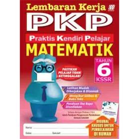 Tahun 6 Lembaran Kerja PKP Matematik