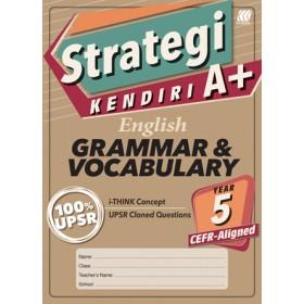 Tahun 5 Strategi Kendiri A+ English Grammar & Vocabulary