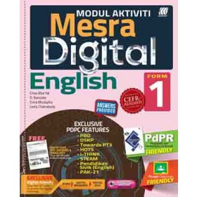 TINGKATAN 1 MODUL MESRA DIGITAL ENGLISH