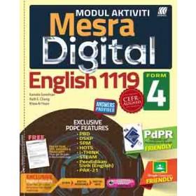 TINGKATAN 4 MODUL MESRA DIGITAL ENGLISH
