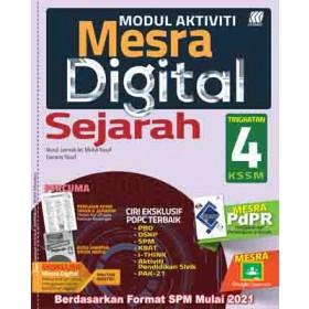 TINGKATAN 4 MODUL MESRA DIGITAL SEJARAH+BOOKLET