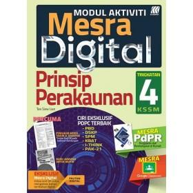 TINGKATAN 4 MODUL MESRA DIGITAL PRINSIP PERAKAUNAN+BOOKLET
