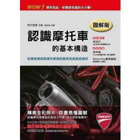 認識摩托車的基本構造【圖解版】