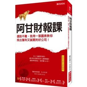 阿甘財報課:選股不難,我用一張圖表教你挑出獲利又誠實的好公司!