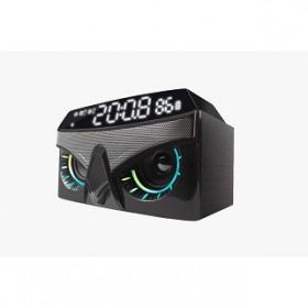 VINNFIER NEO AIR 3 BLUETOOTH ALARM CLOCK RADIO SPEAKER MIST BLACK