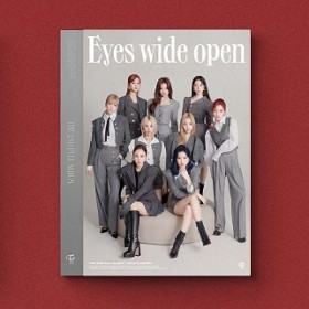 TWICE - 2ND FULL ALBUM: EYES WIDE OPEN (STYLE VER.) (CD)