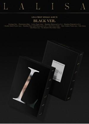 LISA - 1ST SINGLE ALBUM : LALISA (BLACK VER.)