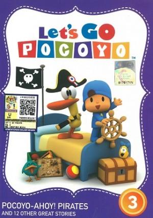 Let's Go Pocoyo Vol.3 Pocoyo-AhoyPirates (DVD)