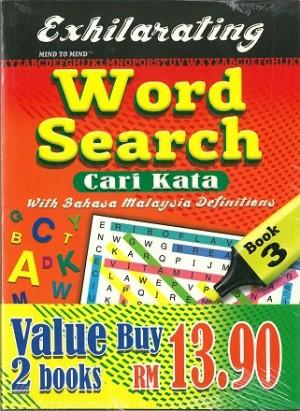 EXHILARATING WORD SEARCH (CARI KATA) BUN