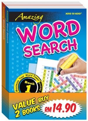 Amazing Word Search - Bundle 1