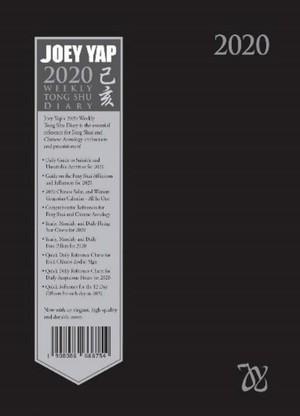 WEEKLY TONG SHU DIARY 2020