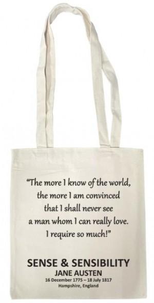 Tote Bag (Sense & Sensibility)