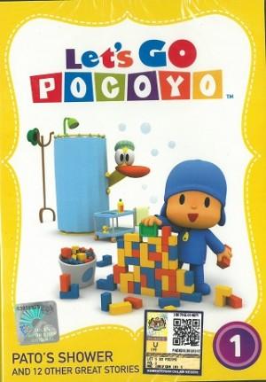 Let's Go Pocoyo Vol.1 Pato's Shower (DVD)