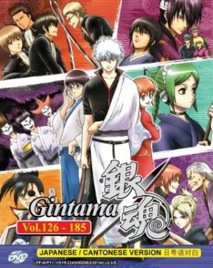GINTAMA 银魂 BOX 3 VOL.126-185  (6DVD)