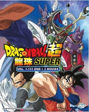 DRAGON BALL SUPER V1-131END+3MV (12DVD)
