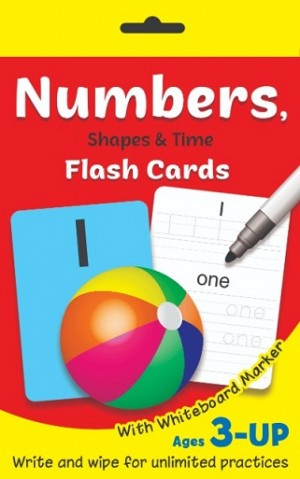 FC:NUMBERS, SHAPES & TIME W/B MARKER'20
