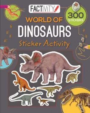 Factivity Balloon Sticker Activity Book: Dinosaurs