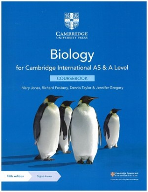 Cambridge International AS & A Level Biology Coursebook with Digital Access (2 Years) 5th Edition