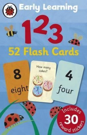 LB EARLY LEARNING FLASHCARDS 123