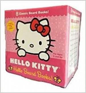 C-HELLO KITTY 8 CLASSIC BOARD BOOKS