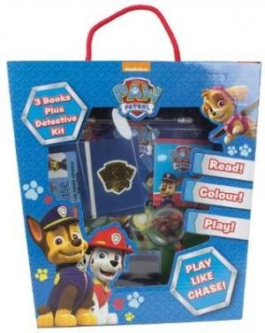 Nickelodeon PAW Patrol: 3 Books Plus Detective Kit