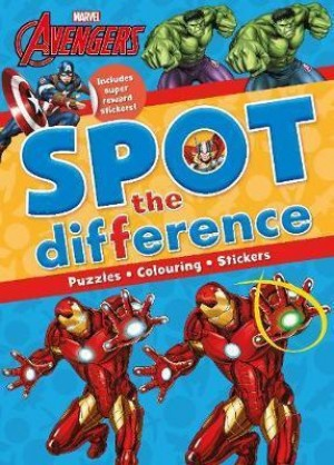 MARVEL AVENGERS SPOT THE DIFFERENCE PUZZ
