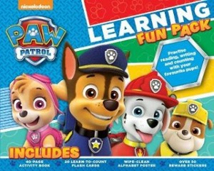 Nickelodeon PAW Patrol Learning Fun Pack: Practise Reading, Writing and Counting with Your Favourite Pups!