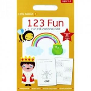Little Genius Sml Pad 123 Fun