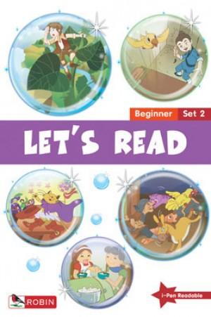 LET'S READ-BEGINNER SET 2(BK6-10) 2ND ED