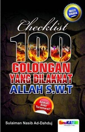 100 GOLONGAN YANG DILAKNAT ALLAH S.W.T