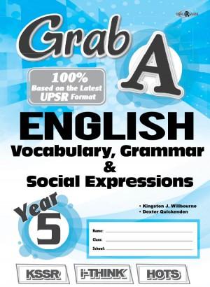 Tahun 5 Grab A English Vocabulary, Grammar & Social Expressions