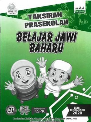 TAKSIRAN PRASEKOLAH BELAJAR JAWI BAHARU