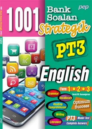 1001 BANK SOALAN STRATEGIK PT3 ENGLISH