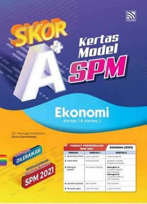 SKOR A+ KERTAS MODEL SPM EKONOMI