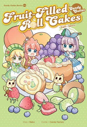 Candy Cuties 14 Fruit-Filled Roll Cakes Topic: Sports