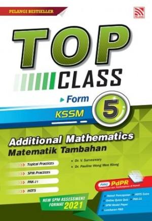 TINGKATAN 5 TOP CLASS ADDITIONAL  MATHEMATICS