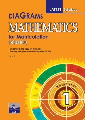 Semester 1 Diagrams Mathematics (Science) for Matriculation