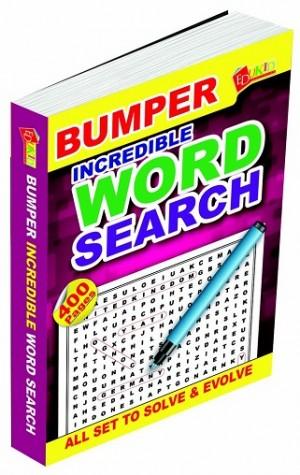 BUMPER INCREDIBLE WORD SEARCH