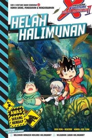 X-VENTURE DUNIA DINOSAUR: HELAH HALIMUNAN