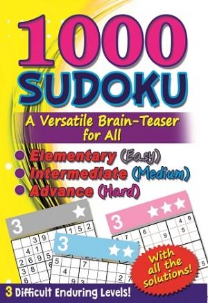 1000 SUDOKU: (YELLOW) A VERSATILE BRAIN