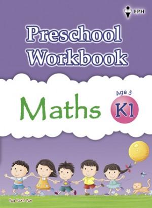 K1 Preschool Workbook Maths