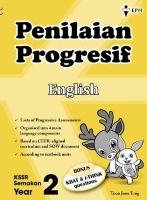 Tahun 2 Penilaian Progresif English