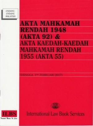 AKTA MAHKAMAH RENDAH 1948 (AKTA 92)